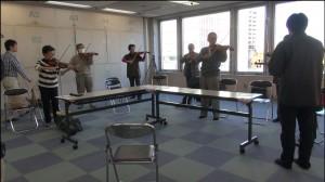 フレットバイオリン体験20141115